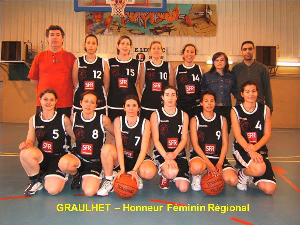 GRAULHET – Honneur Féminin Régional
