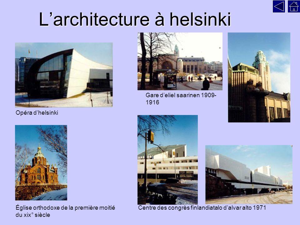 L'architecture à helsinki