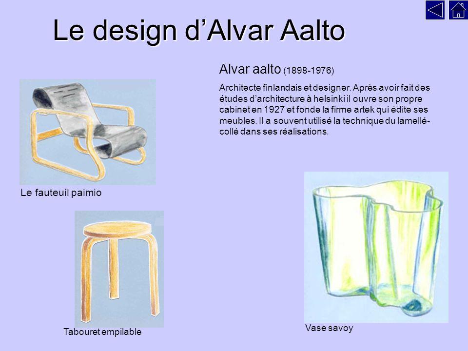 Le design d'Alvar Aalto