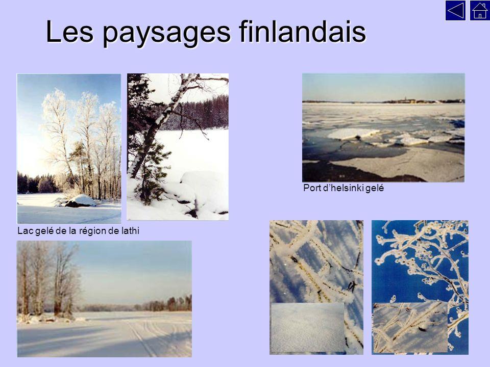 Les paysages finlandais
