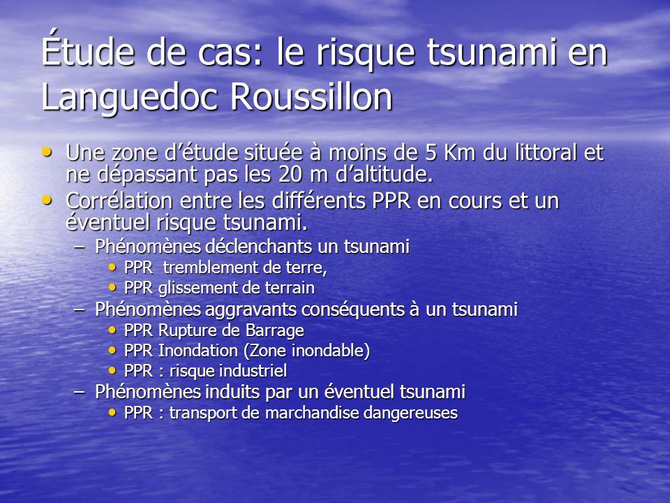 Étude de cas: le risque tsunami en Languedoc Roussillon