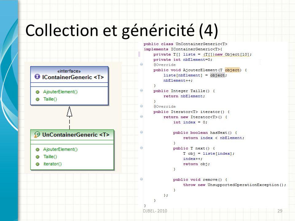 Collection et généricité (4)