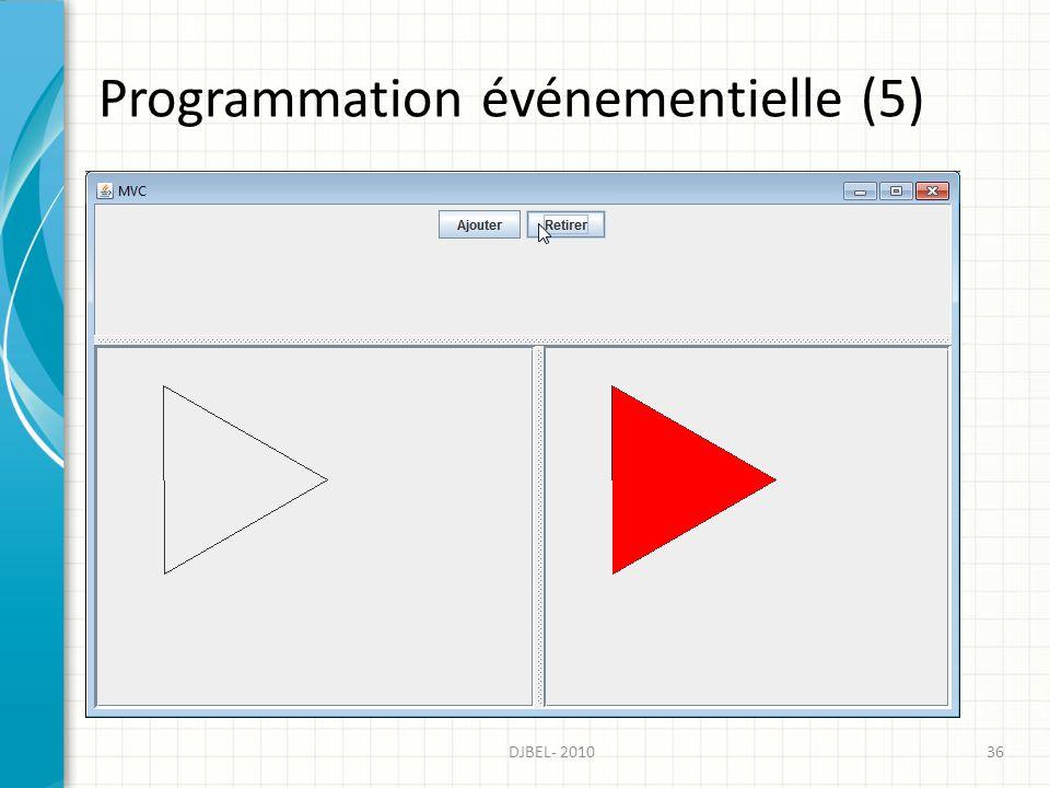 Programmation événementielle (5)