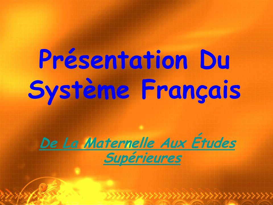 Présentation Du Système Français