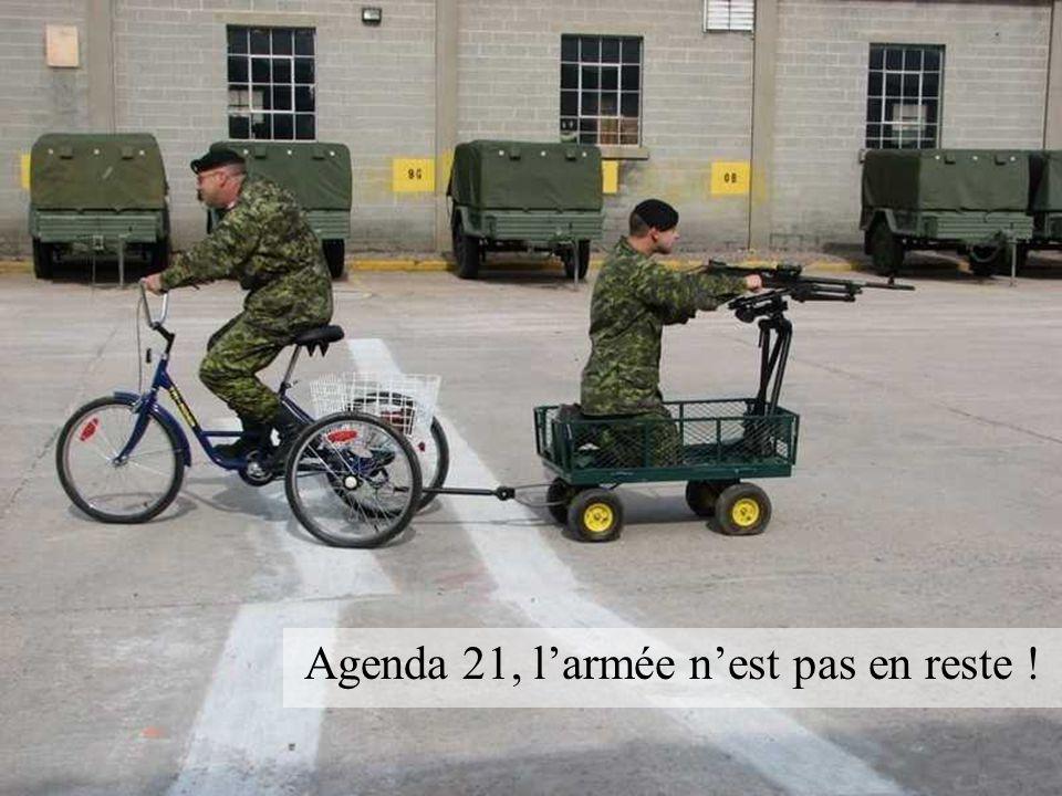 Agenda 21, l'armée n'est pas en reste !