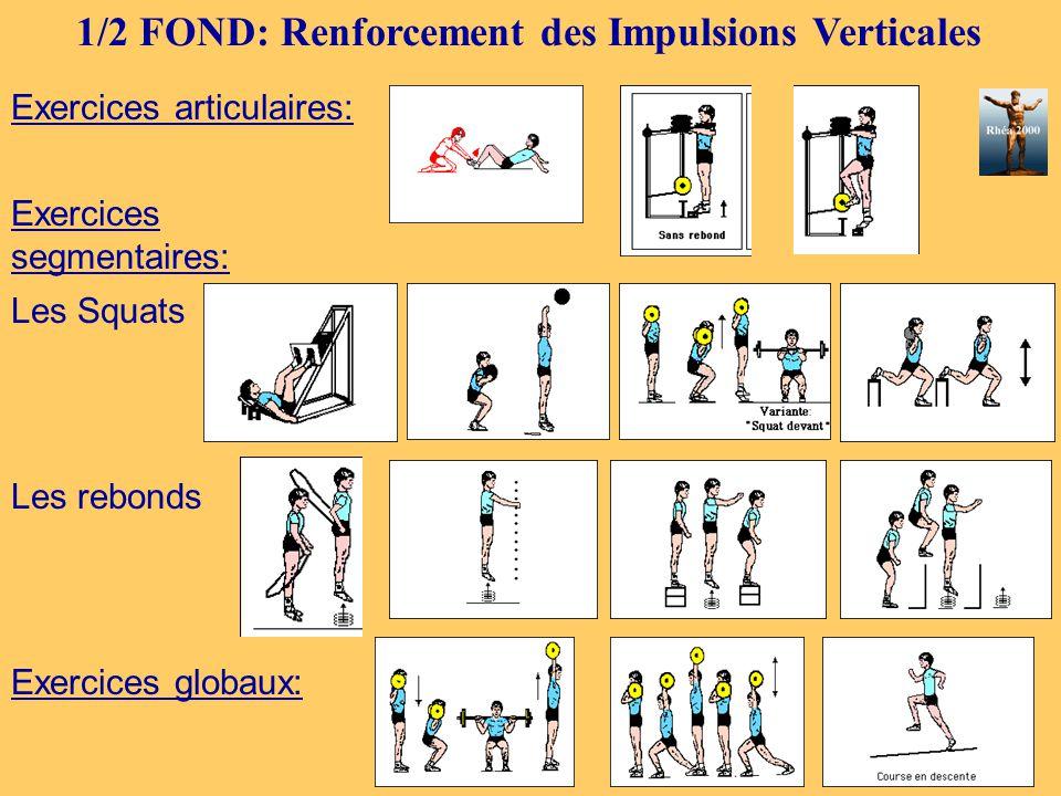 1/2 FOND: Renforcement des Impulsions Verticales
