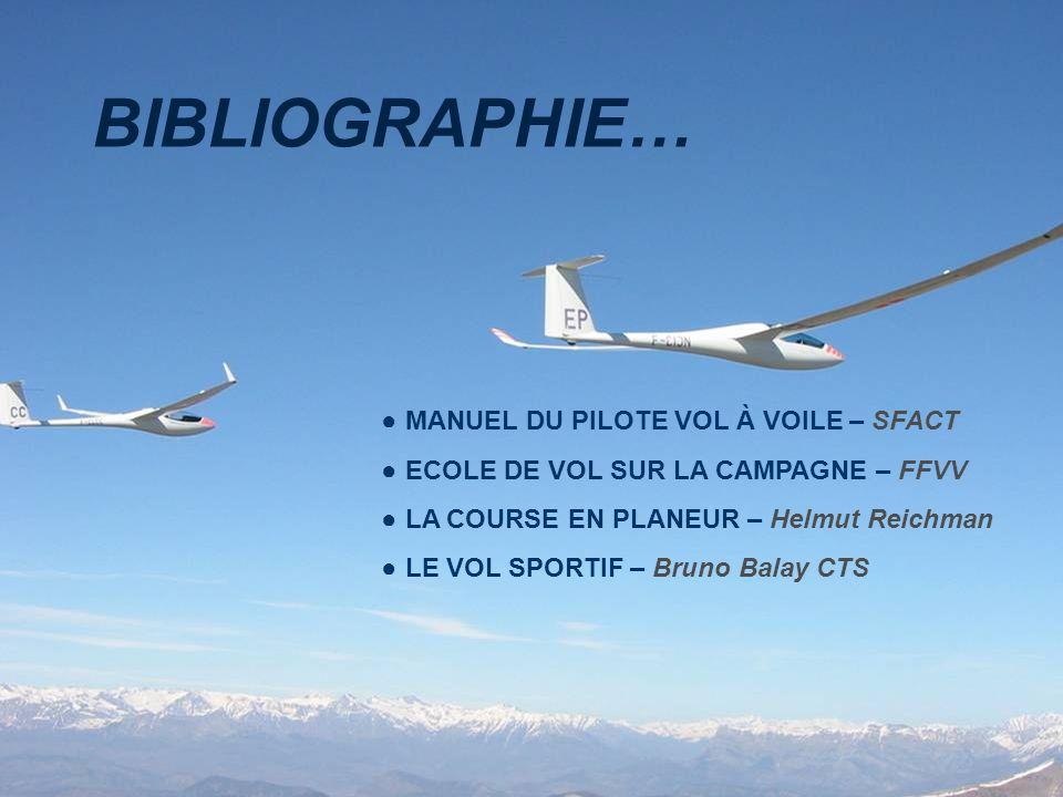 BIBLIOGRAPHIE… MANUEL DU PILOTE VOL À VOILE – SFACT