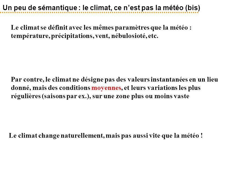 Un peu de sémantique : le climat, ce n'est pas la météo (bis)