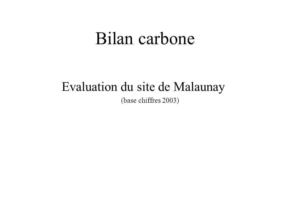 Evaluation du site de Malaunay