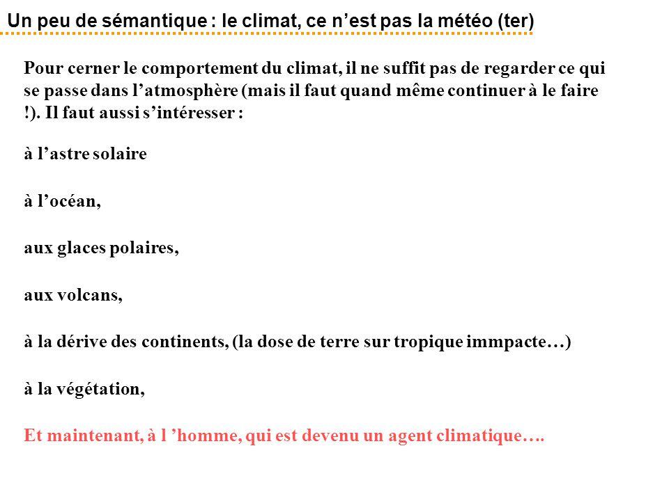 Un peu de sémantique : le climat, ce n'est pas la météo (ter)