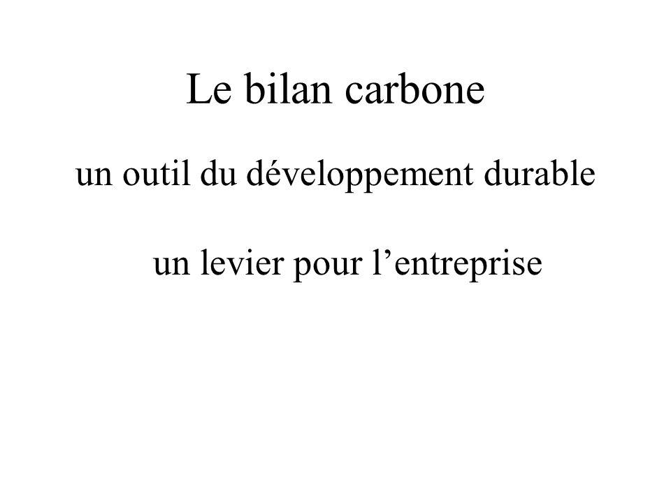 un outil du développement durable un levier pour l'entreprise