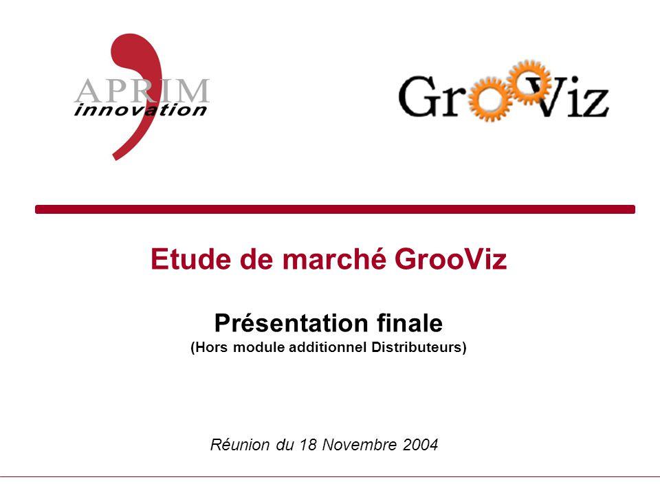 Etude de marché GrooViz Présentation finale (Hors module additionnel Distributeurs)
