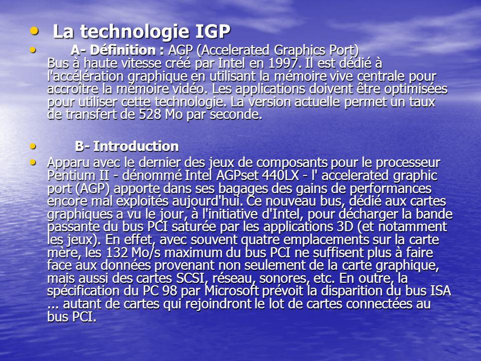 La technologie IGP