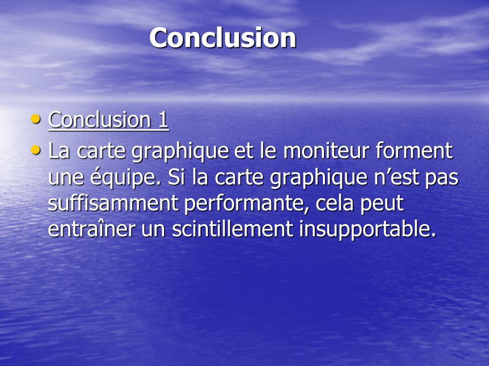 Conclusion Conclusion 1
