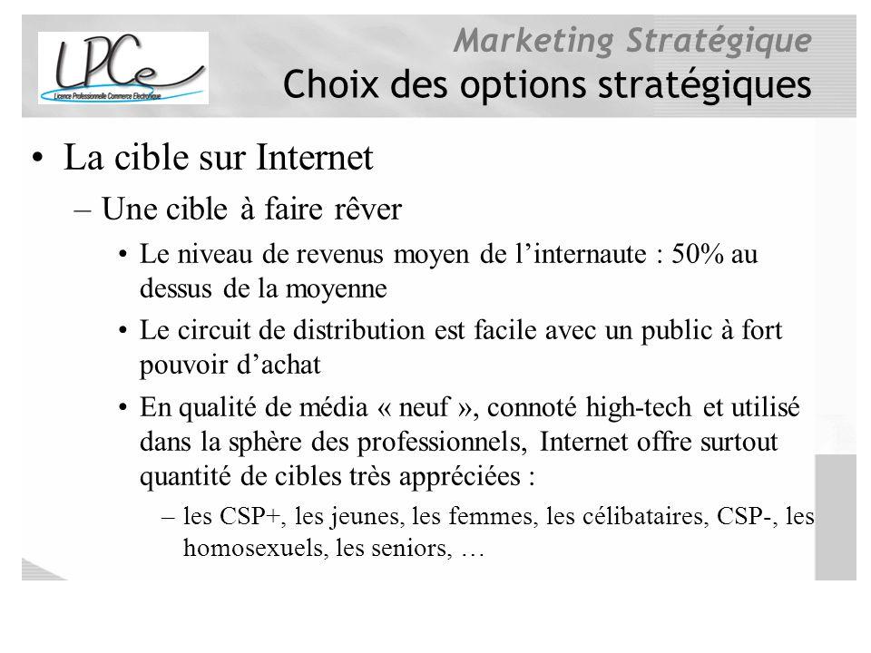 Choix des options stratégiques