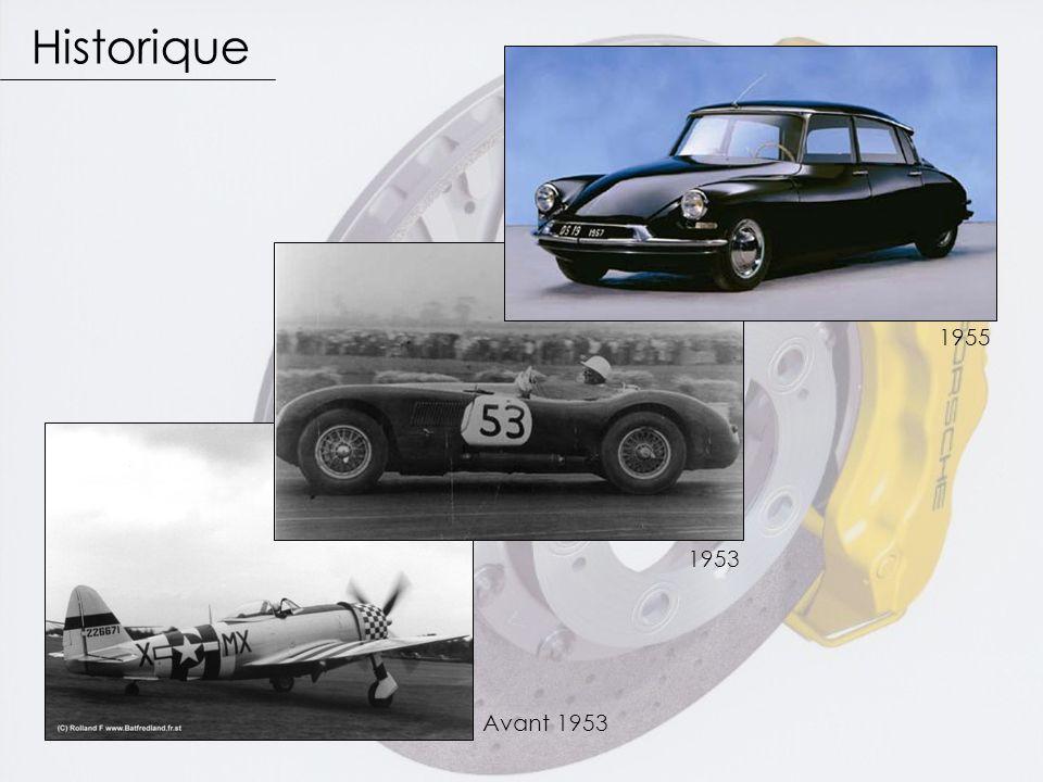 Historique 1955 1953 Avant 1953