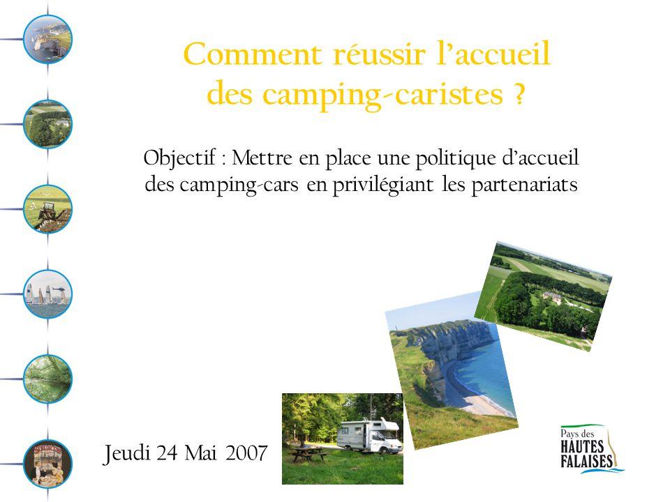 Comment réussir l'accueil des camping-caristes