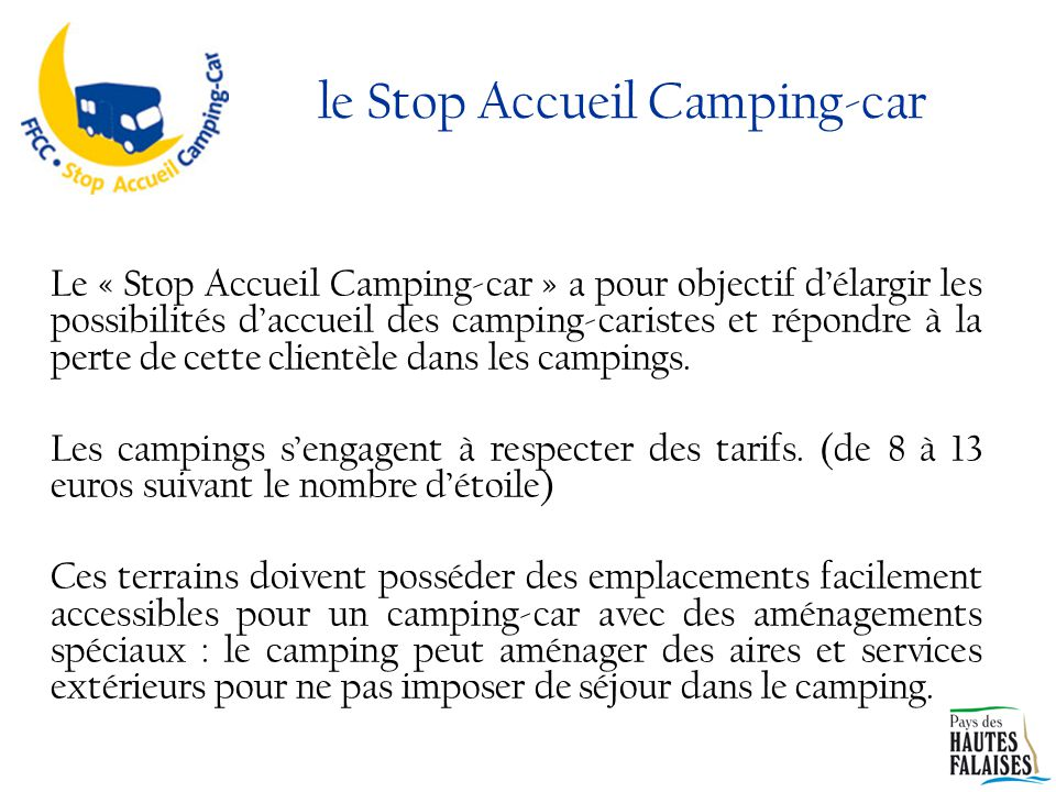 le Stop Accueil Camping-car