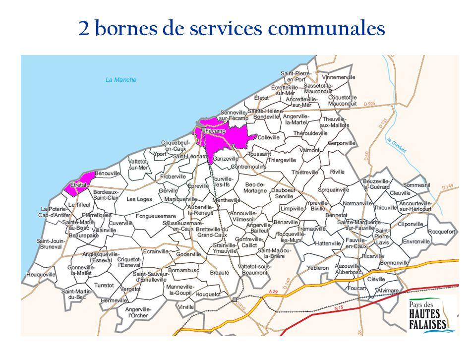 2 bornes de services communales