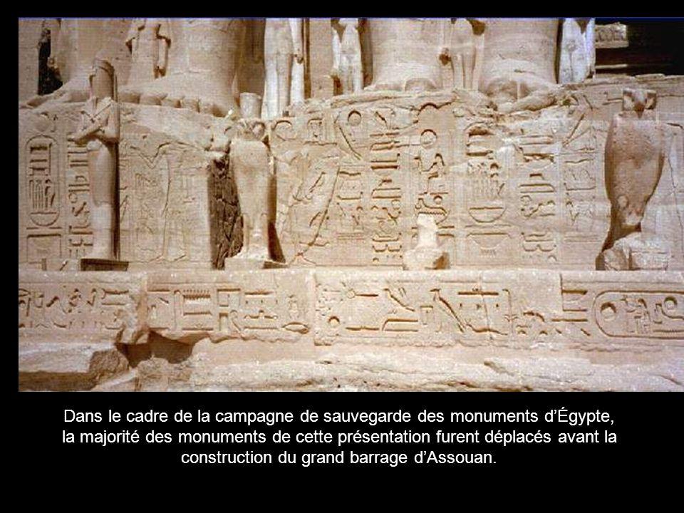 Dans le cadre de la campagne de sauvegarde des monuments d'Égypte,