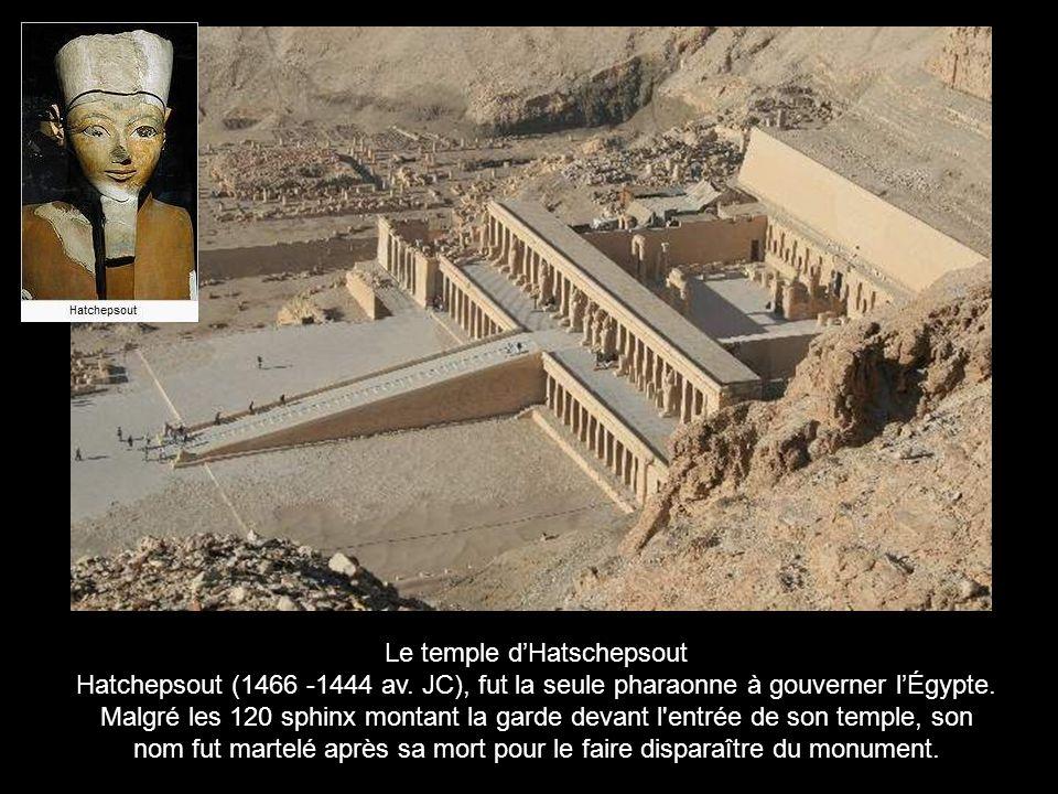 Le temple d'Hatschepsout