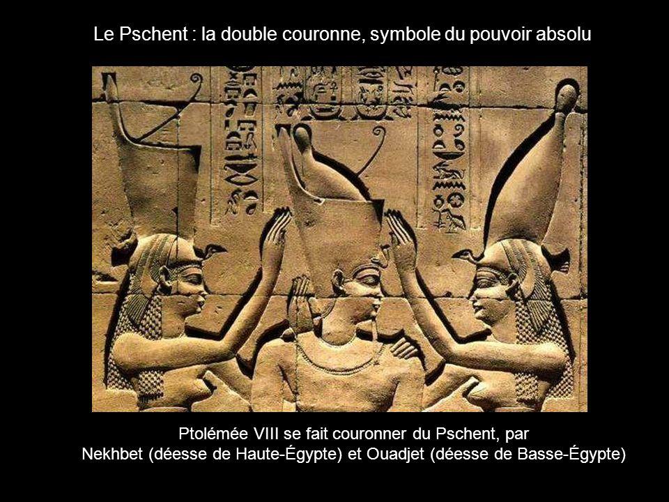 Le Pschent : la double couronne, symbole du pouvoir absolu
