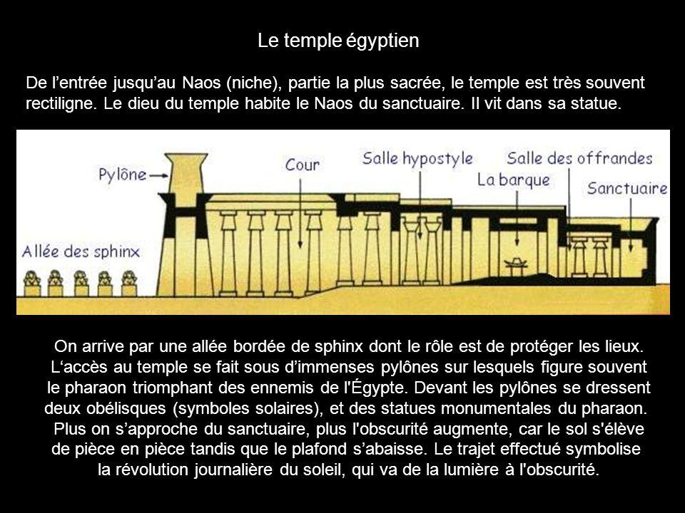 Le temple égyptien