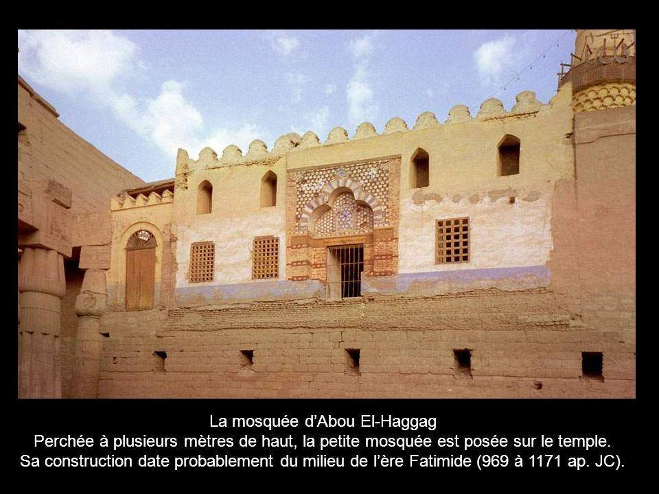 La mosquée d'Abou El-Haggag