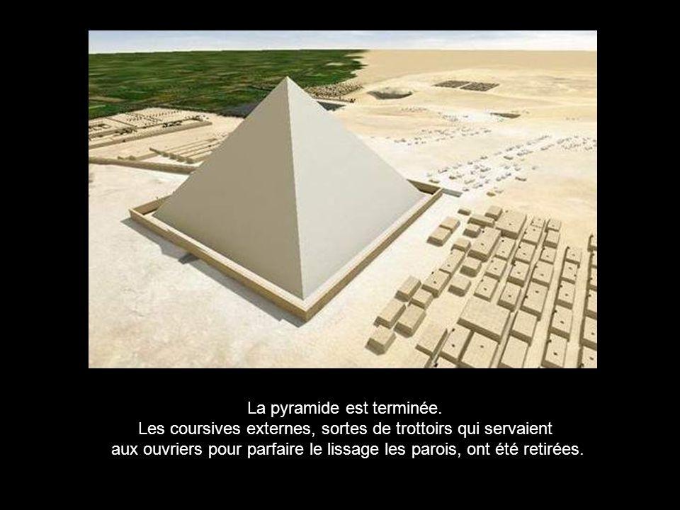 La pyramide est terminée.
