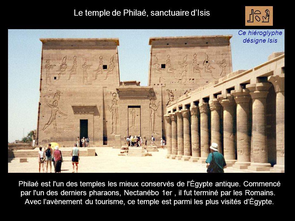 Le temple de Philaé, sanctuaire d'Isis