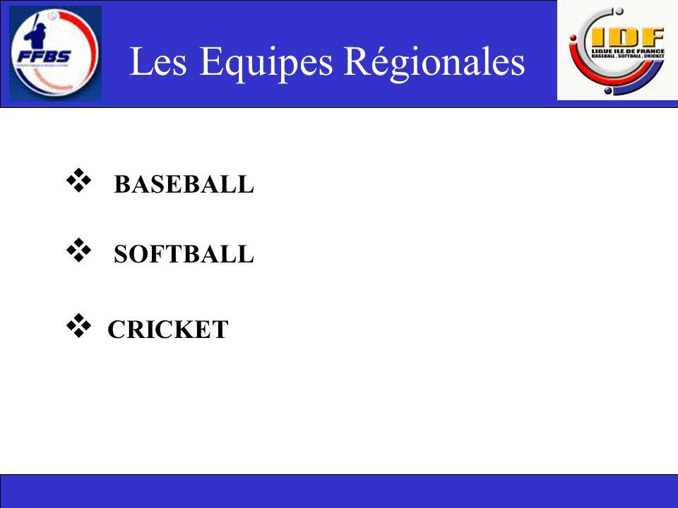 Les Equipes Régionales