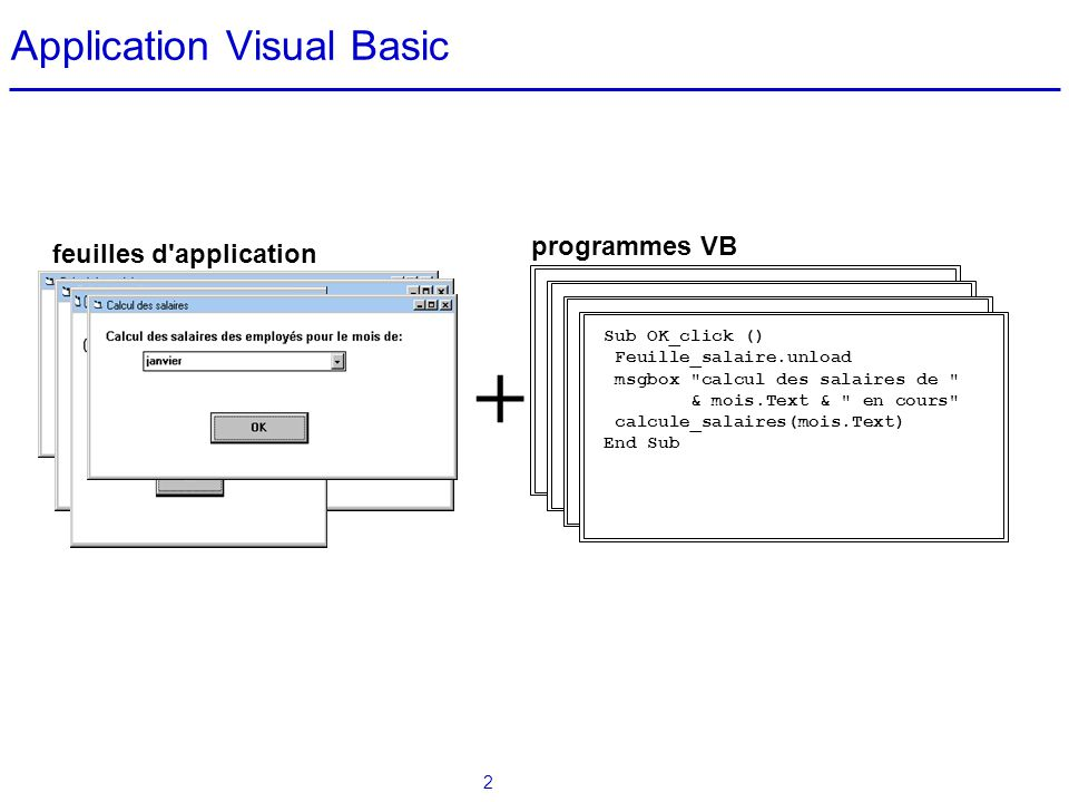 Application Visual Basic
