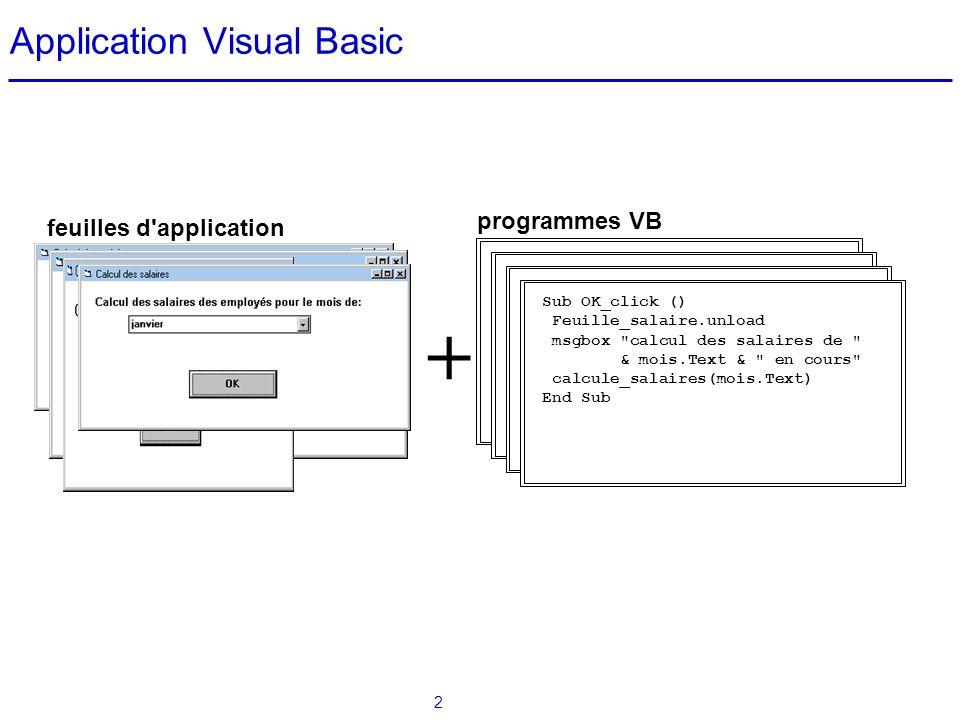 Application Visual Basic
