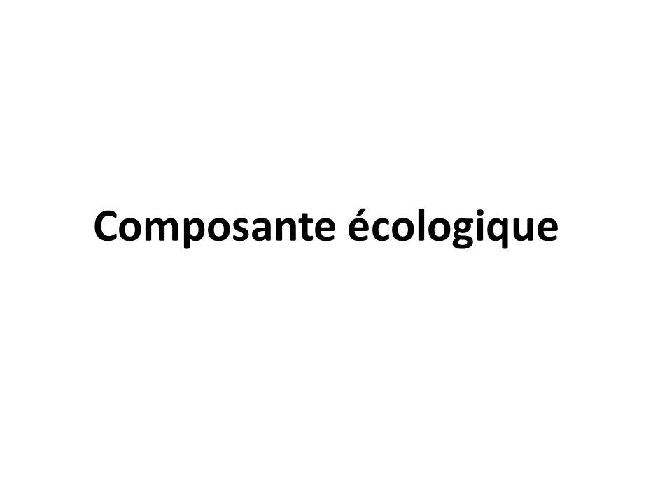 Composante écologique