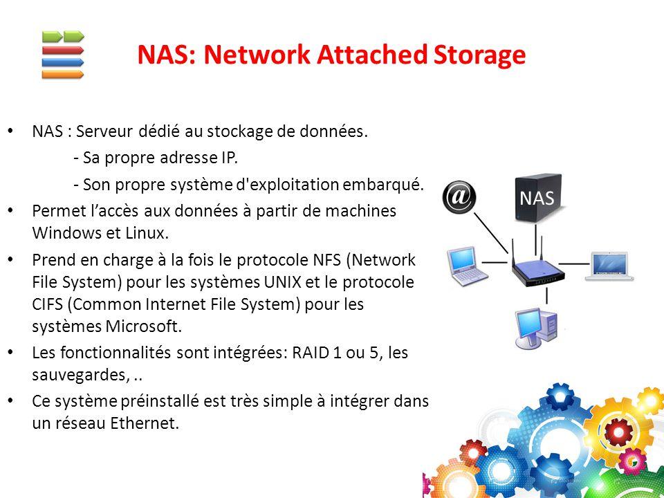 NAS: Network Attached Storage