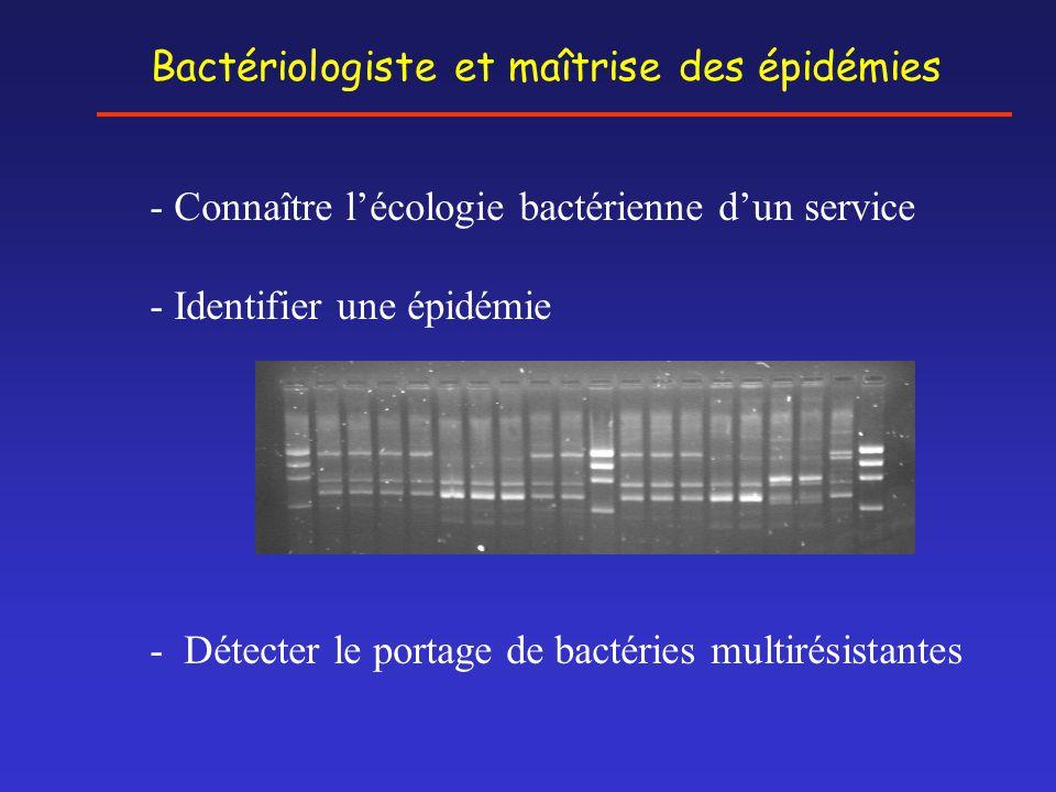 Bactériologiste et maîtrise des épidémies