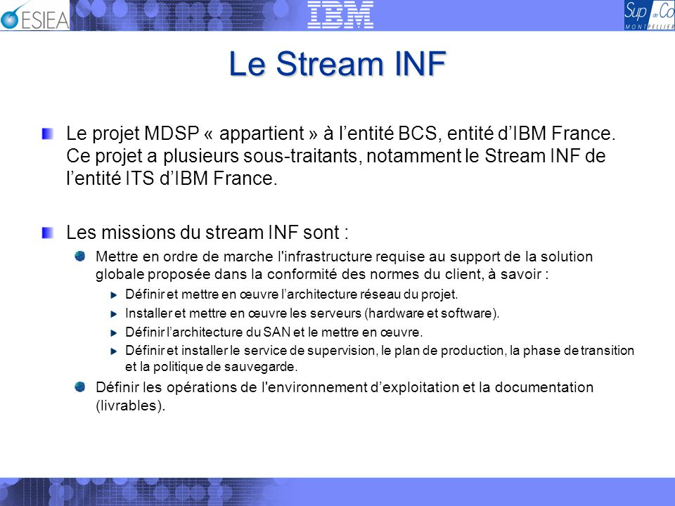 Le Stream INF
