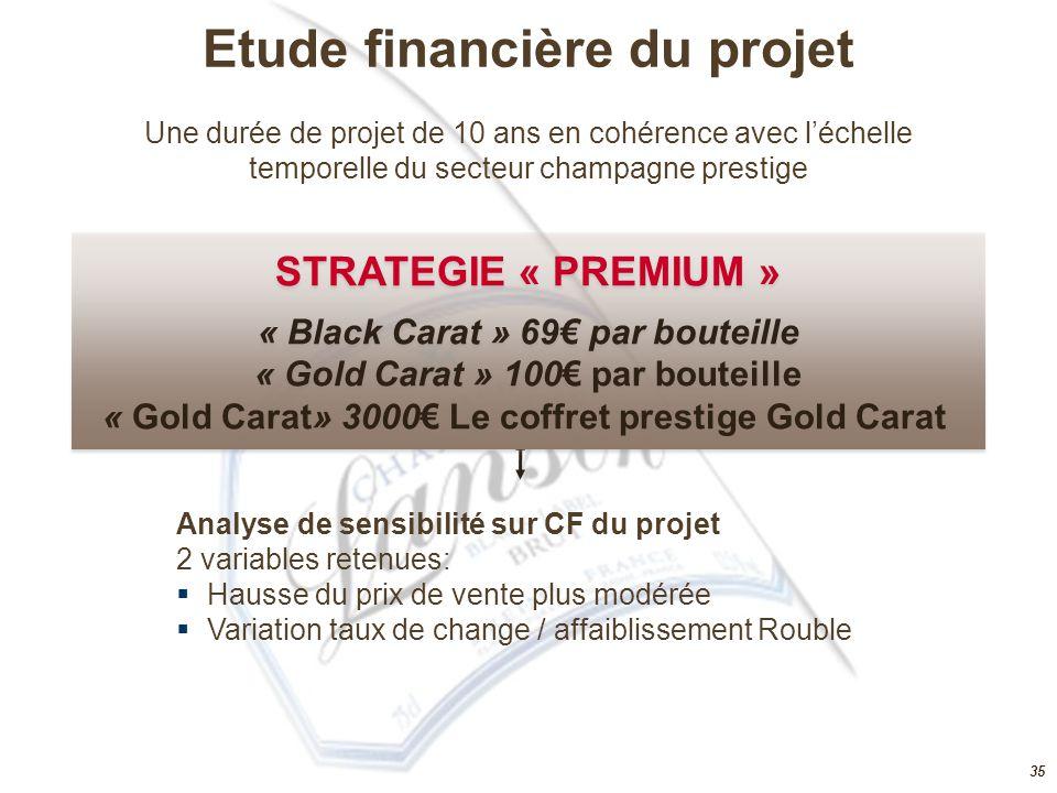 Etude financière du projet