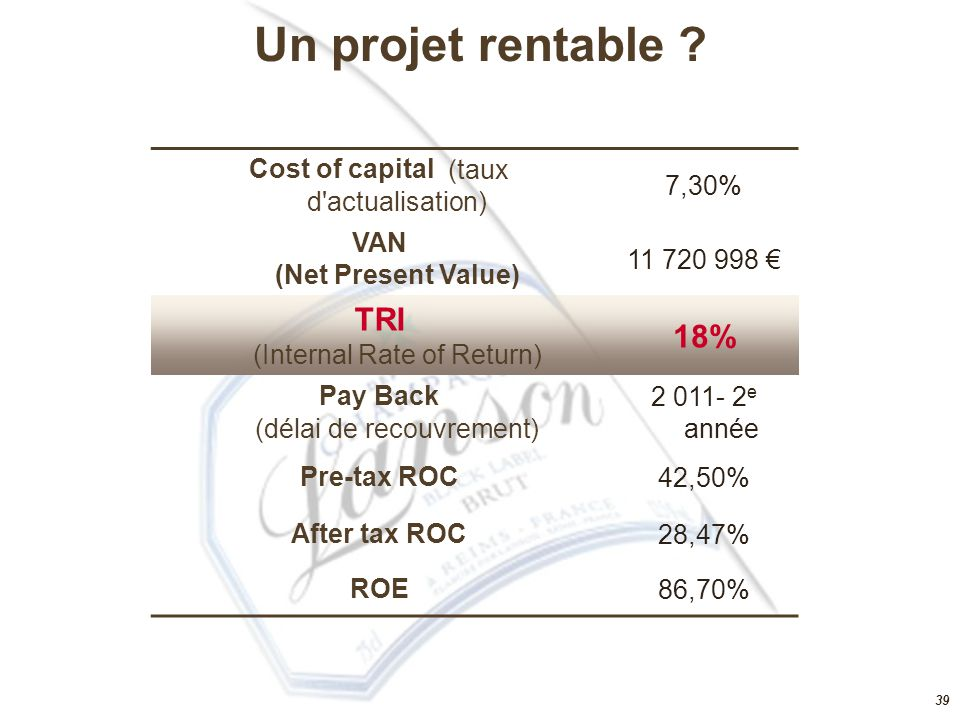 VAN (Net Present Value)
