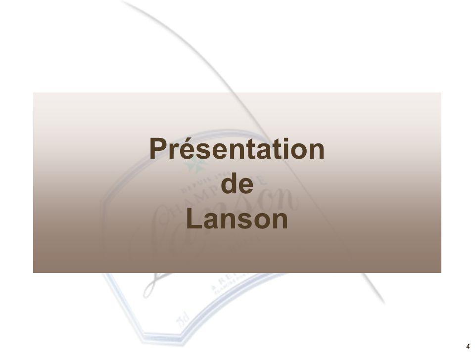 Présentation de Lanson