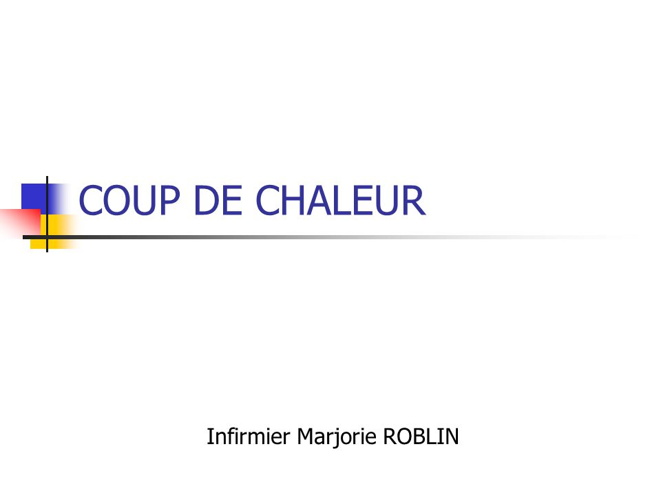 Infirmier Marjorie ROBLIN