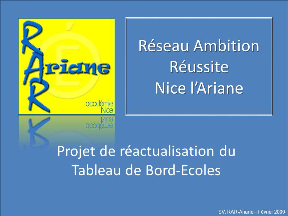 Réseau Ambition Réussite Nice l'Ariane