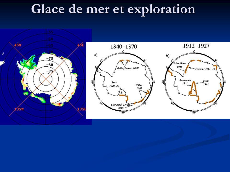 Glace de mer et exploration