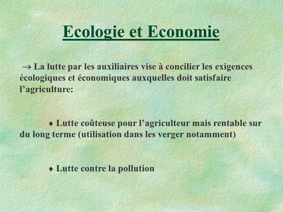 Ecologie et Economie