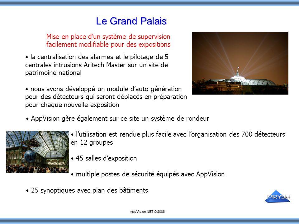 Le Grand Palais Mise en place d'un système de supervision