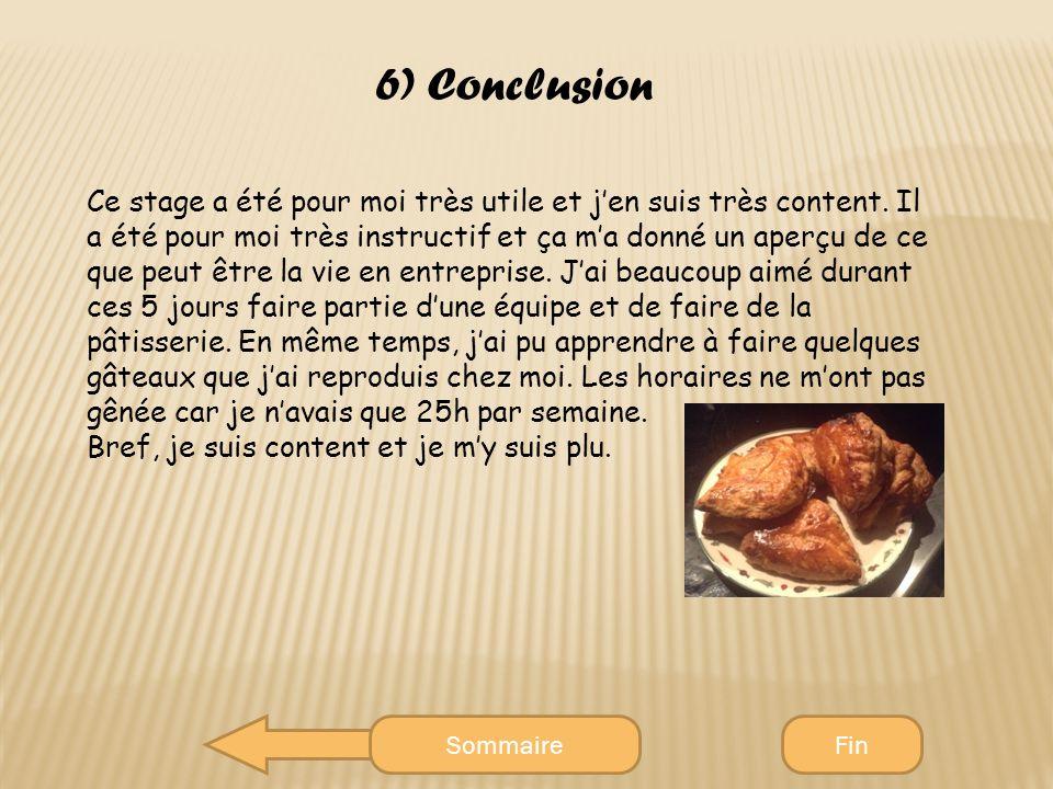 Rapport de stage boulangerie patisserie introduction - Rapport de stage en cuisine ...