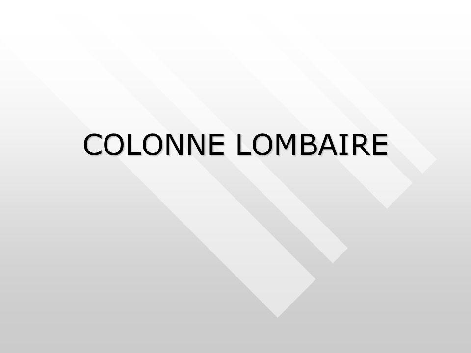 COLONNE LOMBAIRE
