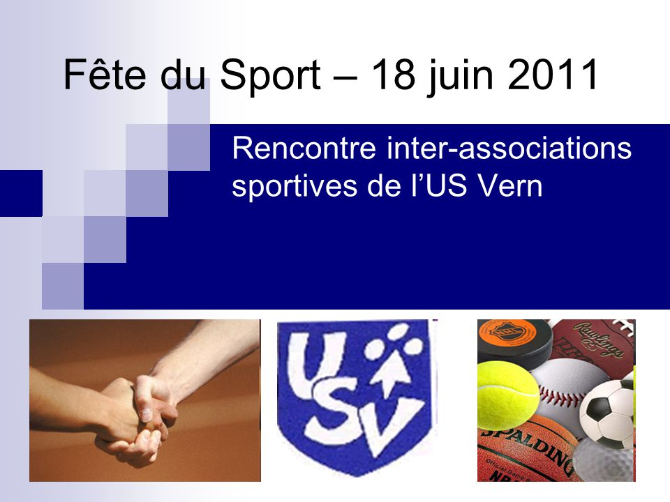 Rencontre inter-associations sportives de l'US Vern