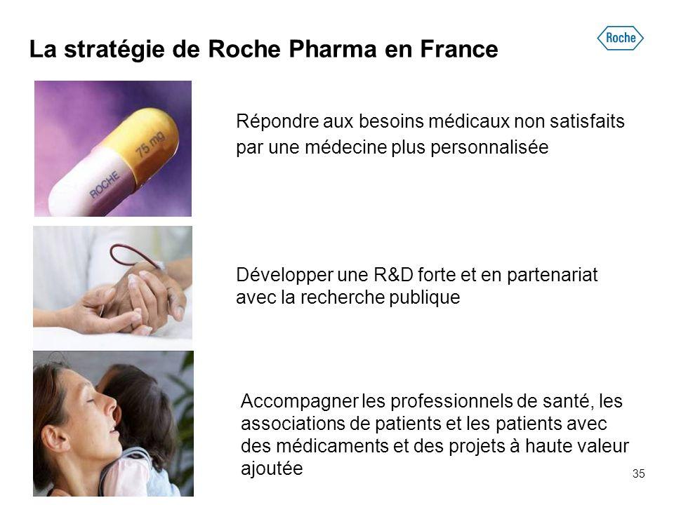La stratégie de Roche Pharma en France