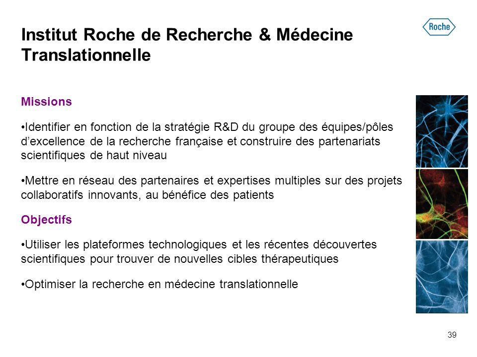Institut Roche de Recherche & Médecine Translationnelle